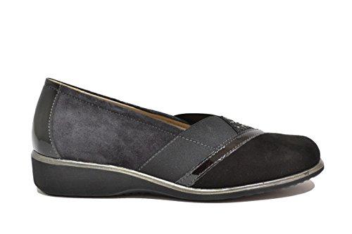 Women's Loafer Melluso Multi Nero Flats CX84WWSwq