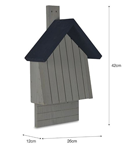 CKB Ltd Bat House Nesting Box Made From Pine Wood Outdoor Wildlife Shelter by CKB Ltd