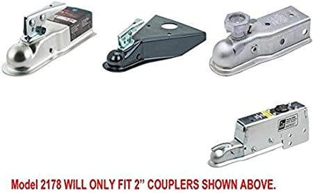 Trailer Hitch Lock Will ONLY FIT 2 Couplers Shown in Picture Proven Industries Lock Model #2178 to Avoid DELAY Please Contact Seller IF Unsure WHICH Lock You Need! RV//Trailer Coupler Lock
