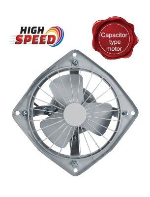 Surya Power Plus High Speed Fresh Air Exhaust Fan 225mm Grey Amazon In Home Kitchen