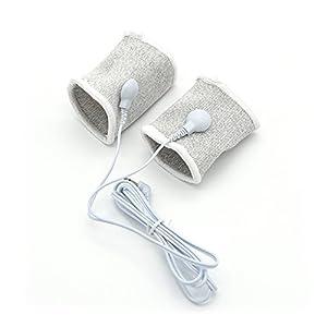 Electric Shock Massager Pen-is rings Elastic Co-ck Ring Set For Men