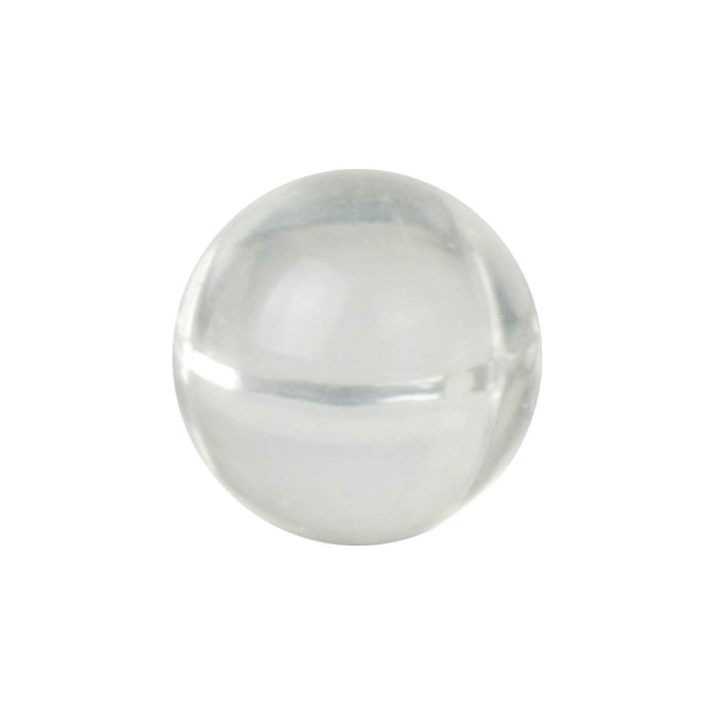1-1/2'' Solid Round Clear Acrylic Balls - (1 Each) by Product Conect