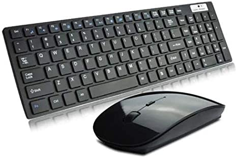 Color : Black Compatible with Windows and Chrome Wgxyihai Adjustable Gaming Keyboard HYT-02 Wireless 2.4GHz Keyboard Mouse Combo Set USB Interface Long Battery Life