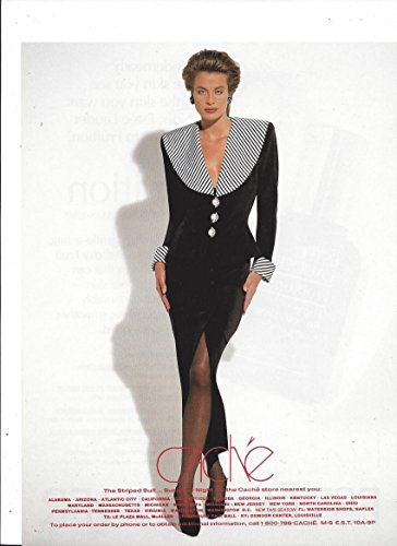 print-ad-with-model-frederique-in-black-dress-for-1993-cache-clothing