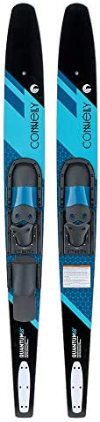 CWB Connelly 61200342-CON Quantum Waterskiing Skis with Bindings 68-inch, Blue