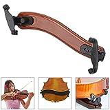 STYDDI Adjustable Violin Shoulder Rest for 4/4, 3/4 Sizes, Collapsible, Universal Violin Shoulder Pad for Height and Angle