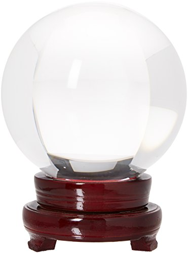LONGWIN 100mm (3 9 inch) Clear Crystal Ball for Photography Fortune