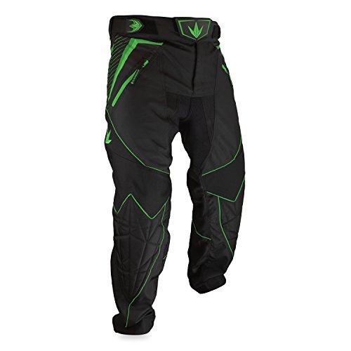 Bunker Kings V2 Supreme Paintball Pants (Large (LG), Lime)