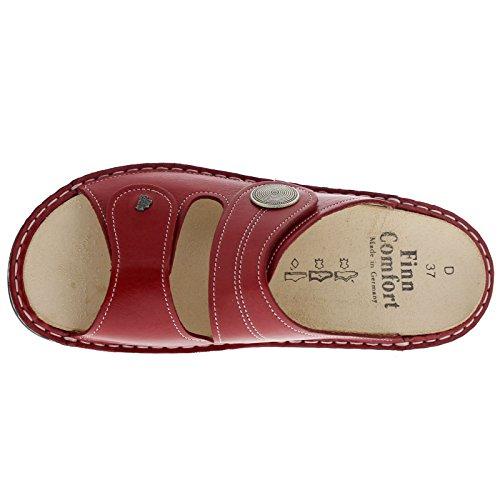 Finn Comfort Womens 2550 Sansibar Venezia Red Leather Sandals 40 EU by Finn Comfort (Image #4)