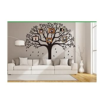 Amazon.com: Giant Family Photo frame Tree Wall Decal Removable Wall ...