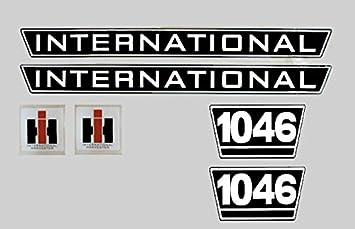 Ihc Aufkleber Motorhaube 1046 Auto