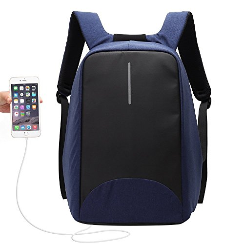 Travel Outdoor Computer Backpack Laptop bag 15.6''(blue) - 9