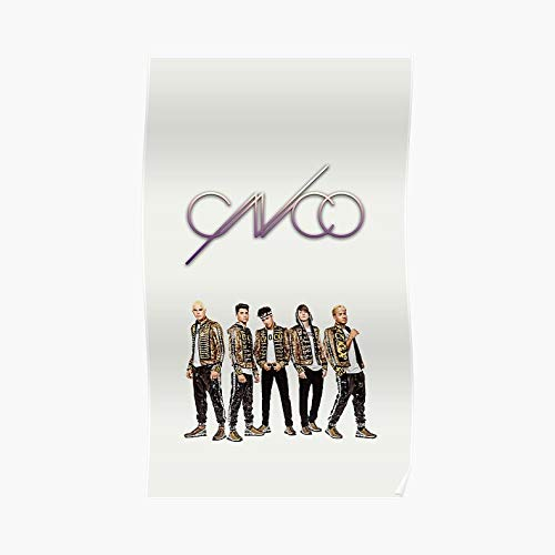 Cnco Group Poster - For Office Decor, College Dorm, Teachers, Classroom, Gym Workout And School Halloween, Holiday, Christmas Party ! Great Inspirational Wall Art Poster.