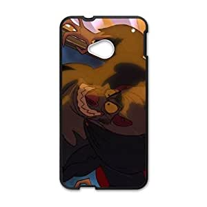HTC One M7 Cell Phone Case Black The Great Mouse Detective Character Bartholomew