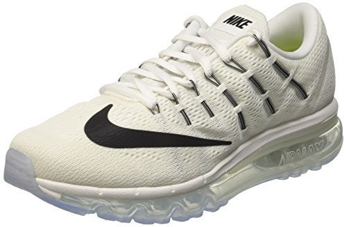 low priced 5bfd3 4f202 Galleon - NIKE Women s WMNS Air Max 2016, Summit White Black-White, 6.5 M US
