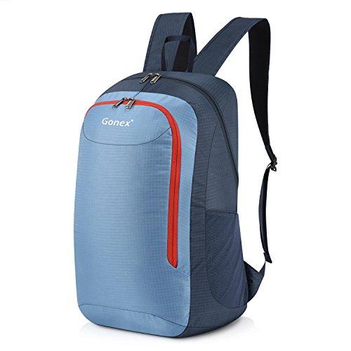 Gonex 28L Lightweight Packable Backpack Handy Travel Hiking Daypack(Blue)