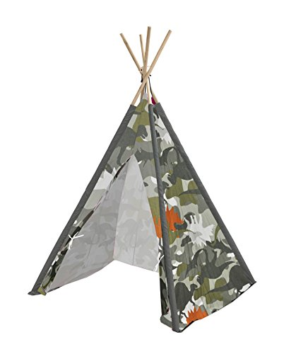 Heritage Kids Dino Camo Play Tent, Green