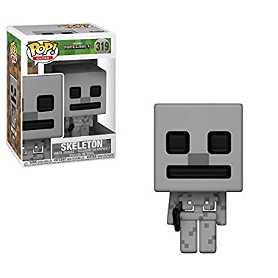 Games: Minecraft - Skeleton Collectible Figure: Toys & Games