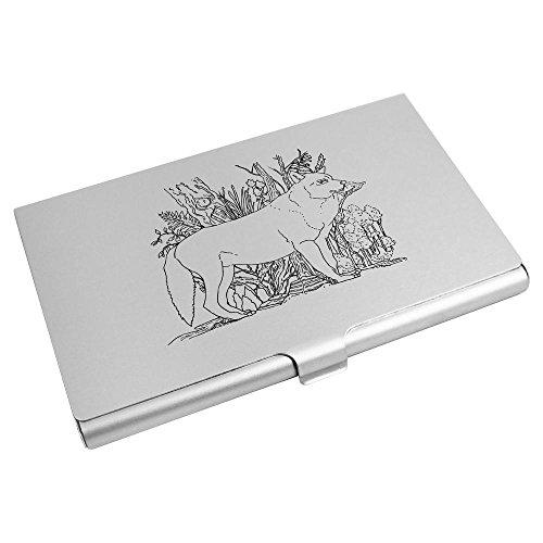 Business CH00006939 'Wolf' Wallet Credit Holder Card Azeeda 'Wolf' Azeeda Card S41ttz