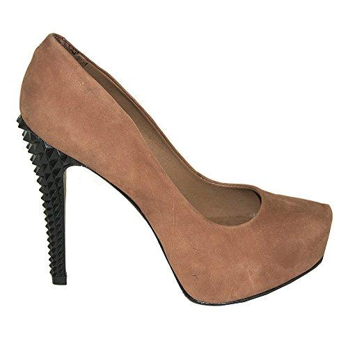 SCHUTZ Zapatos de vestir de ante para mujer Marrón marrón