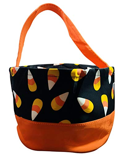 Halloween Trick or Treat Bags - Kids Candy Bucket Tote Bag - by Jolly Jon -