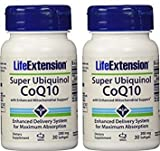 Cheap Life Extension Super Ubiquinol CoQ10 with Enhanced Mitochondrial Support, 200 mg, 30 softgels (2 Pack)