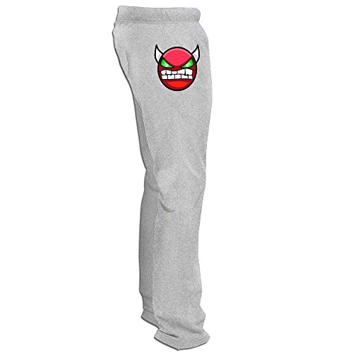 MZONE Best Geometry Angry Dash Running Pants For Men Ash Size M (Best Mouse For Geometry Dash)