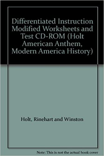 Workbook differentiated instruction worksheets : Amazon.com: American Anthem, Modern American History ...