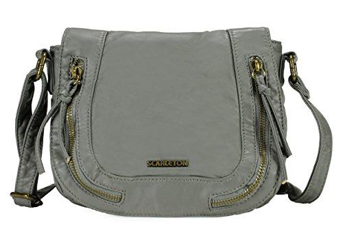Scarleton Crossbody Chic Ash Bag H1922 qpRnq8