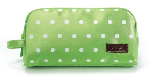 jimeale-cosmetic-bag-702-orange-white-polka