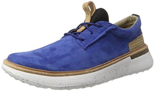 Ohw? Herren Lawes Low-top Blau (indigo Blue/white) Bas-haut (bleu / Blanc Indigo)