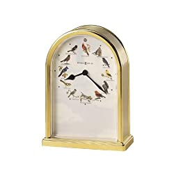 Howard Miller 645-405 Songbirds of North America III Table Clock by by Howard Miller