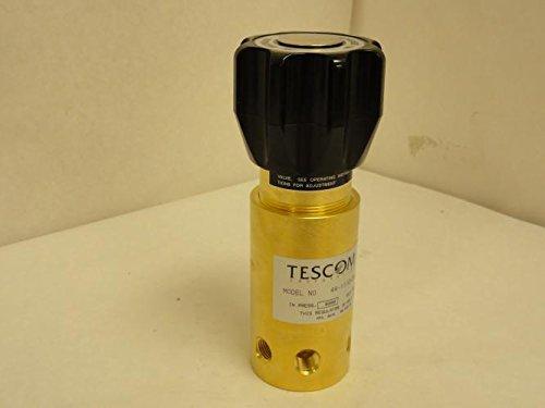 Tescom 44-1112-24 Pressure Reducing Regulator, Brass, 1/4 FNPT by TESCOM