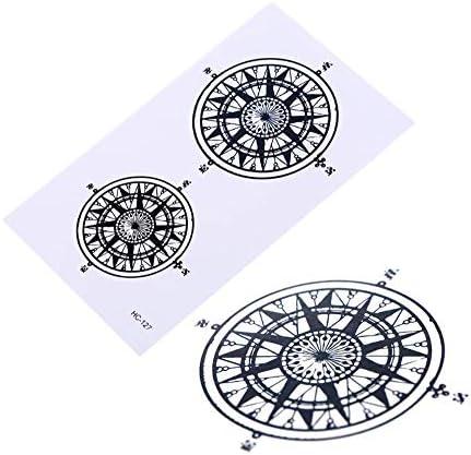 SDEFGH Etiqueta engomada del tatuaje Decoraciones Niños Niñas ...