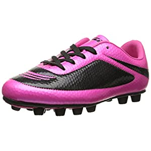 Vizari Infinity FG Soccer Cleat (Toddler/Little Kid/Big Kid), Pink/Black, 8.5 M US Toddler
