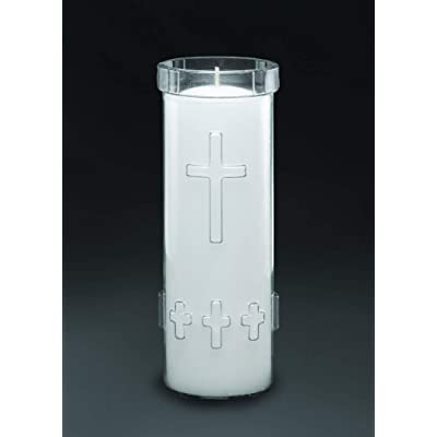 7 Day Sanctuary Candle (24 pcs. per case): Home & Kitchen