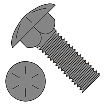 """1//2-13 x 3-1//2/"""" Stainless Steel Carriage Bolts Grade 18-8 Qty 10"""