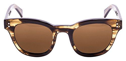 Lenoir Eyewear LE62000.0 Lunette de Soleil Mixte Adulte, Marron