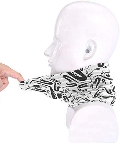 楽器ピアノ マイクロファイバーのさまざまなヘッドスカーフネックウォーマーバンダナバラクラバチューブネックスカーフ