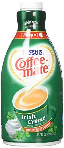 NESTLE COFFEE-MATE Coffee Creamer, Irish Creme, 1.5L liquid pump bottle, Pack of 1