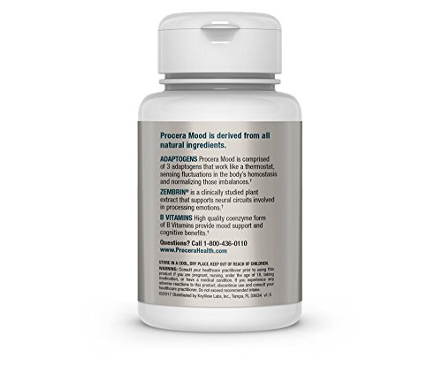 All-Natural Anxiety & Stress Relief, Mood Enhancing Supplement | Serotonin  Booster, Energy & Brain