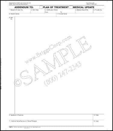 Amazon.com: Briggs HeralthCare CMS 487 - Addendum to: Plan of ...