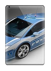 Hot Protective Tpu Case With Fashion Design For Ipad Mini 2 (lamborghini Gallardo Polizia) 4624289J59768127