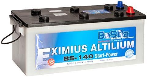 Lkw Batterie 12 V 140 Ah Bs 140 Starterbatterie Für Lkw Elektronik