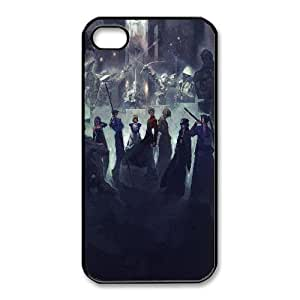 Unique Design Cases iPhone 4,4S Cell Phone Case Black fate stay night game Aqaxv Printed Cover Protector