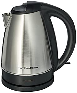 Hamilton Beach 40989e Stainless Steel Electric Cordless Kettle 7 – a nice small appliance addition to home or college dormwill be handy for the winter months ahead