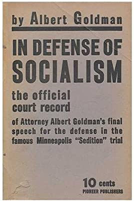 Amazon.it: In defense of socialism : the official court
