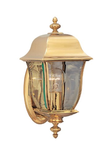 Designers Fountain 1532-PVD-PB Gladiator Wall Lanterns, Brass Treated (Pvd Polish Brass)