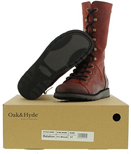 Oak & Hyde Batalion Womens Red Q40ePxDqKx