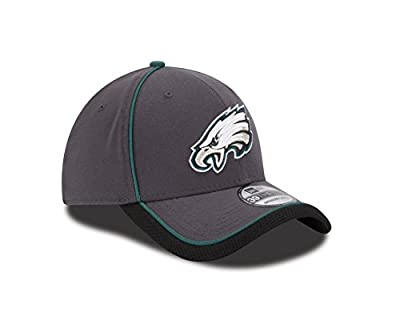New Era NFL Graphite Team Takedown 3930 Flex Fitted Hat